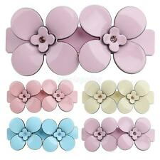 Acrylic Flower Spring Large Hair Clip Luxury Women Hair Barrette Holder Clamp