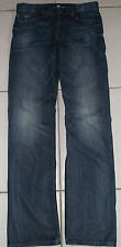 7 FOR ALL MANKIND MEN'S SIZE 31X35 TALL BUTTONFLY STANDARD STRETCH JEANS IN EUC!