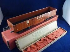 HORNBY NE BRICK WAGON WITH BRICK LOAD ALL BOXED O GAUGE