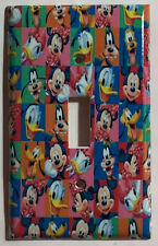 Mickey Mouse Friends characters Light Switch Power Outlet Cover Plate Home decor