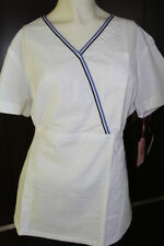 Koi Ali Scrub Top white, new with tags