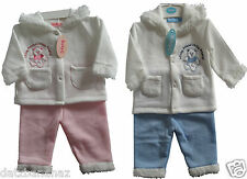 Baby C 2 piece BABY SUIT jacket & joggers Pink or Blue 0-3, 3-6, 6-9 month