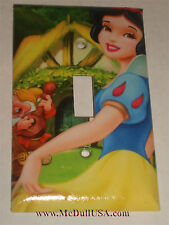 Princess Snow White Light Switch Power Duplex Outlet Cover Plate Home decor
