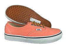 VANS. Authentic. Fresh Salmon Casual Unisex Shoe. Mens US Size: 3.5 - 9.