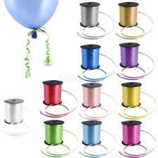 225M Balloon Color Curling Ribbon Helium Wedding Birthday Gift Craft Favor Party