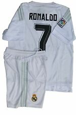 Cristiano Ronaldo Real Madrid Jersey With FREE Shorts Adult Jersey #7 JAMES BALE
