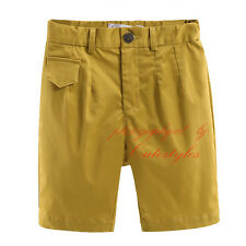 Toddler Boys Beach Shorts Plain Multipocket Surf Trunks Cargo Combat Half Pants