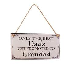 WOOD PLAQUE SIGN WALL HANGING PICTURE GIFT FOR DAD GRANDAD BIRTHDAY FATHERS DAY
