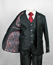 Boys Suits/ Boys Black Suits,Wedding suit/ Prom Suits,Childrens /slim fit suits