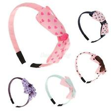 Cute Toddler Girls Bowknot Headbands Hair Bow Hairband Accessory Gifts-5 Colors