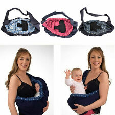 New Baby Infant Newborn Adjustable Carrier Sling Wrap Rider cotton Backpack Pouc