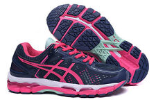 ASICS KAYANO 22 DEEP RUBY WHITE PINK WOMENS RUNNING SHOES