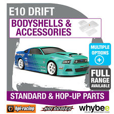 HPI E10 DRIFT CAR [Body Shells] Genuine HPi Racing R/C Standard & Hop-Up Parts!