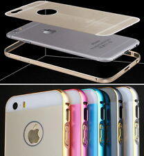 Metal Aluminum Frame Bumper Hard Case Cover Shell for Apple iPhone 6 Plus 5/5S