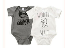 Newborn Baby Kids  Boys Girls  Bodysuit  Outfit  Clothes  Hot Jumpsuit  Romper