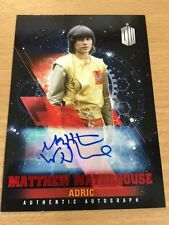 Topps Dr Who Timeless Matthew Waterhouse 07/10 Red Autograph Card Adric