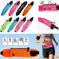 Sport Fanny Pack Waist Bum Hip Bag Hiking Running Jogging Cycling Belt Zip Pouch