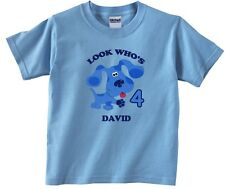 Blues Clues Personalized Custom Birthday Shirt in 8 Different Colors