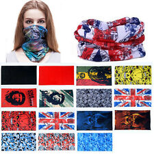 Neck Head Face Mask Colors Tube Scarf Bandana Gaiter Snood Headwear Beanie CHI