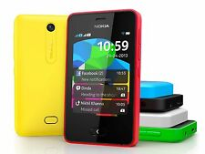 Genuine Unlocked Nokia Asha 501 Touch Screen Dual Sim SmartPhone Camera Video
