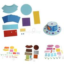 Eva Handmade Hat Craft Kits Foam Sticker Kids DIY Kindergarten Educational Toy