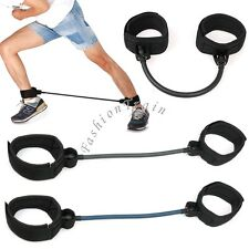 Heavy Duty Leg Thigh Strength Fitness Resistance Cord Exercise Band Cord Loop