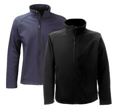 Flint SS2G1 Mens Fleece Softshell 2 Layer Coat Water Repellent Breathable Jacket