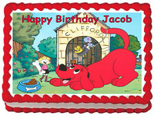 CLIFFORD Image Edible Cake topper frosting sheet