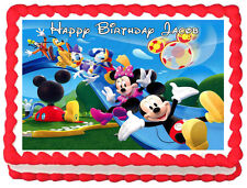 MICKEY MOUSE CLUB HOUSE Image Edible Cake topper Frosting sheet