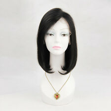 """New Style Free shipping 12"""" 100% human hair Straight wigs Bob style wig on sale"""