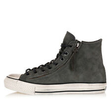 CONVERSE by JOHN VARVATOS Unisex Grey Leather High Sneakers Shoes New
