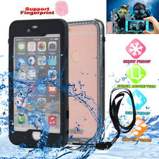 F IPHONE 6 4.7/5.5 6S PLUS WATERPROOF SHOCKPROOF DUST DIRT PROOF HARD CASE COVER