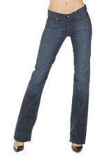 HABITUAL Women New Blue Boot Cut DEEP END Jeans Trousers Pants 22 cm