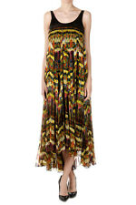 RICHMOND X Women Silk Sequins Sleeveless Long Dress Italy Made New with Tag