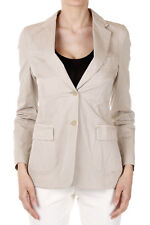 BOGLIOLI Woman Single Breasted Cotton Jacket Made in Italy