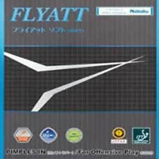 Nittaku Flyatt Soft Table Tennis Rubber(YEAR BIG SALE!!!)