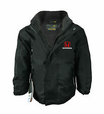 Honda Kids Regatta Fleece Lined Waterproof Jacket with Embroidered Logo