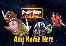 ANGRY BIRDS STAR WARS PERSONALISED PLACEMAT