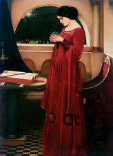Poster Vintage  CRYSTAL BALL print on paper or Canvas Giclee 13X18 to 44X60