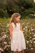 Girls dress,flower girl dress,Spring white dress,Toddler girl dress, White dress