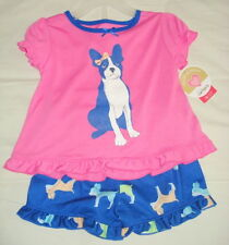 Infant Girls Pajama Set Carters 2-Piece Summer Spring  NWT Sizes 18M 24M 3T