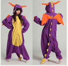*Hot Sleepwear Unisex Adult Pajamas Kigurumi Cosplay Costume Animal Onesie