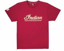 Mens Scout Logo Tee - Red by Indian Motorcycle - 2863816