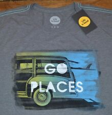 Life is Good T-Shirt GO PLACES Authentic LIFE IS GOOD Tee Mens Shirt MSRP $30.00