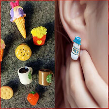Cute Food Lady Fashion Lovely Fruit Resin Pin Stud Earrings Stud CHI ONE PAIR
