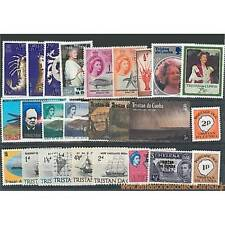Collection de timbres Tristan Da Cunha oblitérés