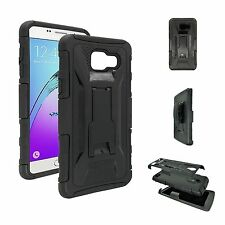 Black Case and Holster Combo with Belt Clip for Samsung Galaxy A5