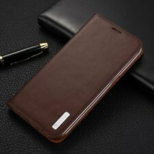 Genuine Magnetic Flip Wallet Leather Card Stand Case Cover For Samsung Galaxy