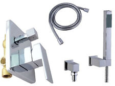 RA NEW MODERN COMPLETE CONCEALED SHOWER UNIT WITH HANDSET EASY INSTALL - RIALTO