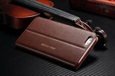 Genuine Magnetic Flip Wallet Leather Stand Case Cover For iPhone 5 5SE 6 6s Plus